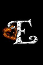 Elva Birch logo: a capital E with a heart